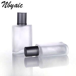Image 5 - Nbyaic1Pcs30ml50ml100ml Frosted Glass Empty Bottle Sprayable Enough Spray Bottle Odor Travel Size Portable Reuse Perfume Bottles