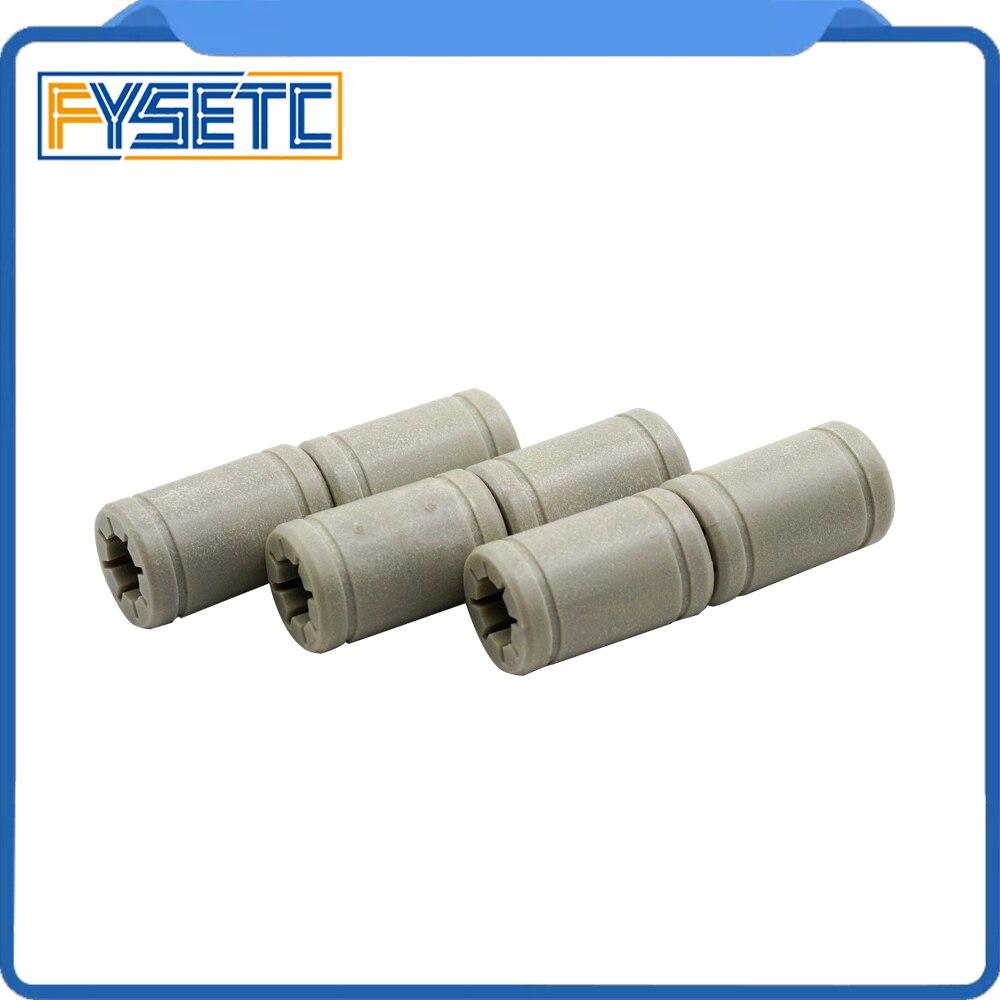10pcs Plastic LM8UU 8 mm Linear Anet Bearing Same As RJ4JP-01-08 Ball Bearing For Anet A8 Prusa I3 3d Printer