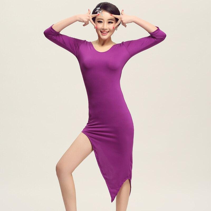 Latino danza falda para Mujeres Nuevo estilo sexy runba baile Niñas ...