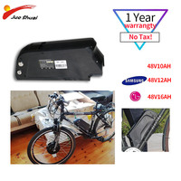 48V Electric Bike Battery High Capacity Samsung Battery with Charger Powerful Electric Bike velo electrique Ebike E Bike Battery|Electric Bicycle Battery|   -