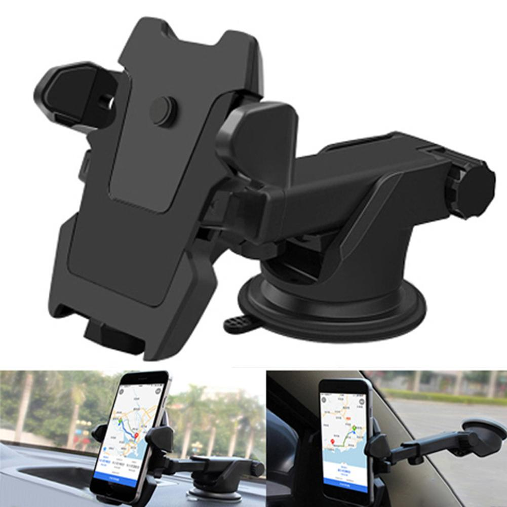 Universal 360 Degree Rotatable Car Auto Mobile Phone Holder Car Phone Holder Cradle GPS Navigation Universal Auto Accessories