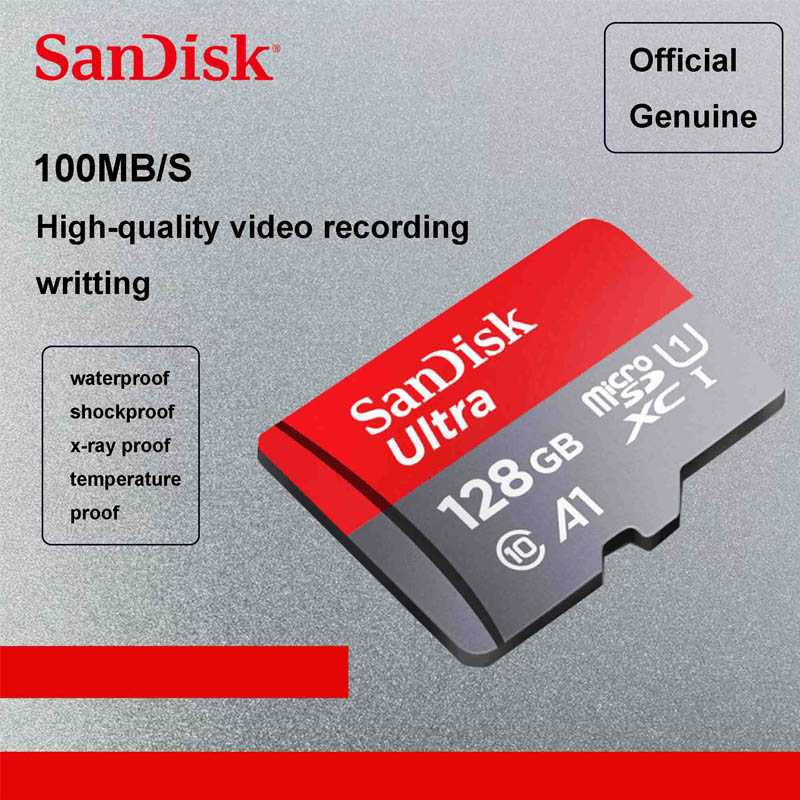 sandisk uitra 256gb micro sd card 64gb 200gb microsdxc. Black Bedroom Furniture Sets. Home Design Ideas