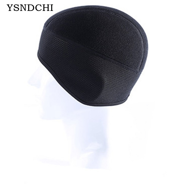 YSDNCHI Winter Skullies Men Beanies Hiking Skiing Bicycle Motorcycle Protection ear Warmth Thermal Windproof Face Mask Earmuffs skullies