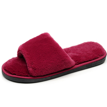 ur Slides Women Slippers Winter Fluffy Sandals House Female Shoes Home Indoor Casual Chaussure Femme