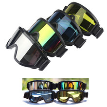 Motocross Scooter Dirt Bike Quad ATV protección UV Snowboard fuera de carretera casco de carreras de esquí gafas Glasse chico adulto(China)