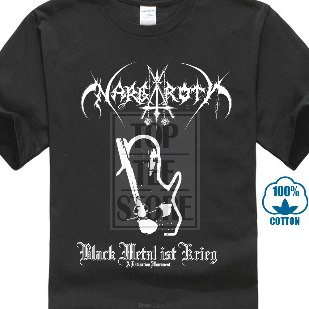 Nargaroth Band Black Metal Ist Krieg 2001 Album Cover   T     Shirt