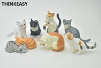 10 PIECES / SET Kitty Kid my cute little Cat Food and Mat Pet Toy Action poni Unicorn vinyl dolls