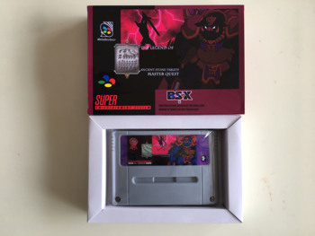 16Bit Games ** BSZELDA-ANCIENT STONE TABLET ( French Language PAL Version!! Box+Cartridge Only!! )