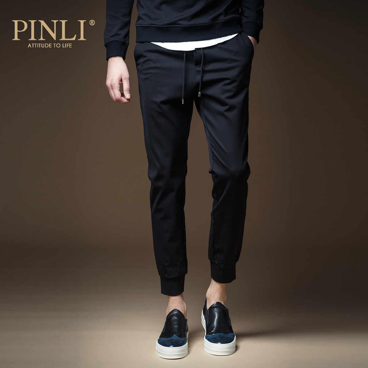 Pantaloni della tuta Pantaloni Uomo Skinny Metà di Militare Pinli Prodotti Sono di Sesso Maschile Pantaloni degli uomini di Decorazione Del Corpo Dei Pantaloni di Autunno Su casual K103