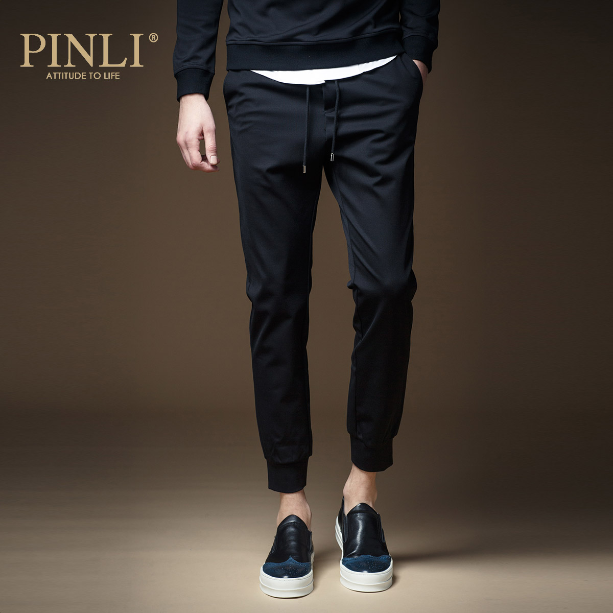Sweatpants Pants Men Skinny Mid Military Pinli Products Are Male Body Decoration Autumn Pants Upon Casual Trousers Men's K103
