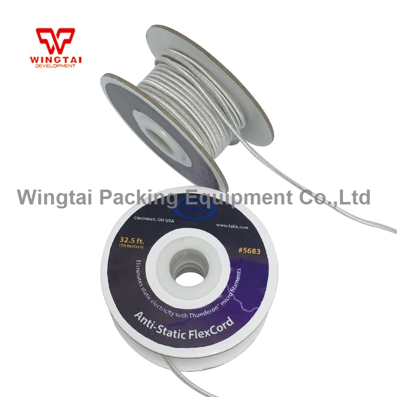 10 meters/roll USA TAKK Antistatic Cord Rope With elastic original usa takk anti static tinsel