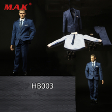 1/6 Scale Male Figure Accessory HB003 Gentleman Suit Set & Shoes Set model for 12'' Action Figures Model Body Accessories on sale 1 6 scale colletible brad pitt fight club action figure model red jacket version with cigarette full set figures
