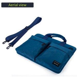 Image 5 - Cartinoe yeni laptop çantası 11, 13.3, 14, 15.4, 15.6 inç Macbook Air 13 için kılıf su geçirmez naylon dizüstü bilgisayar çantası 13.3/15.6 inç