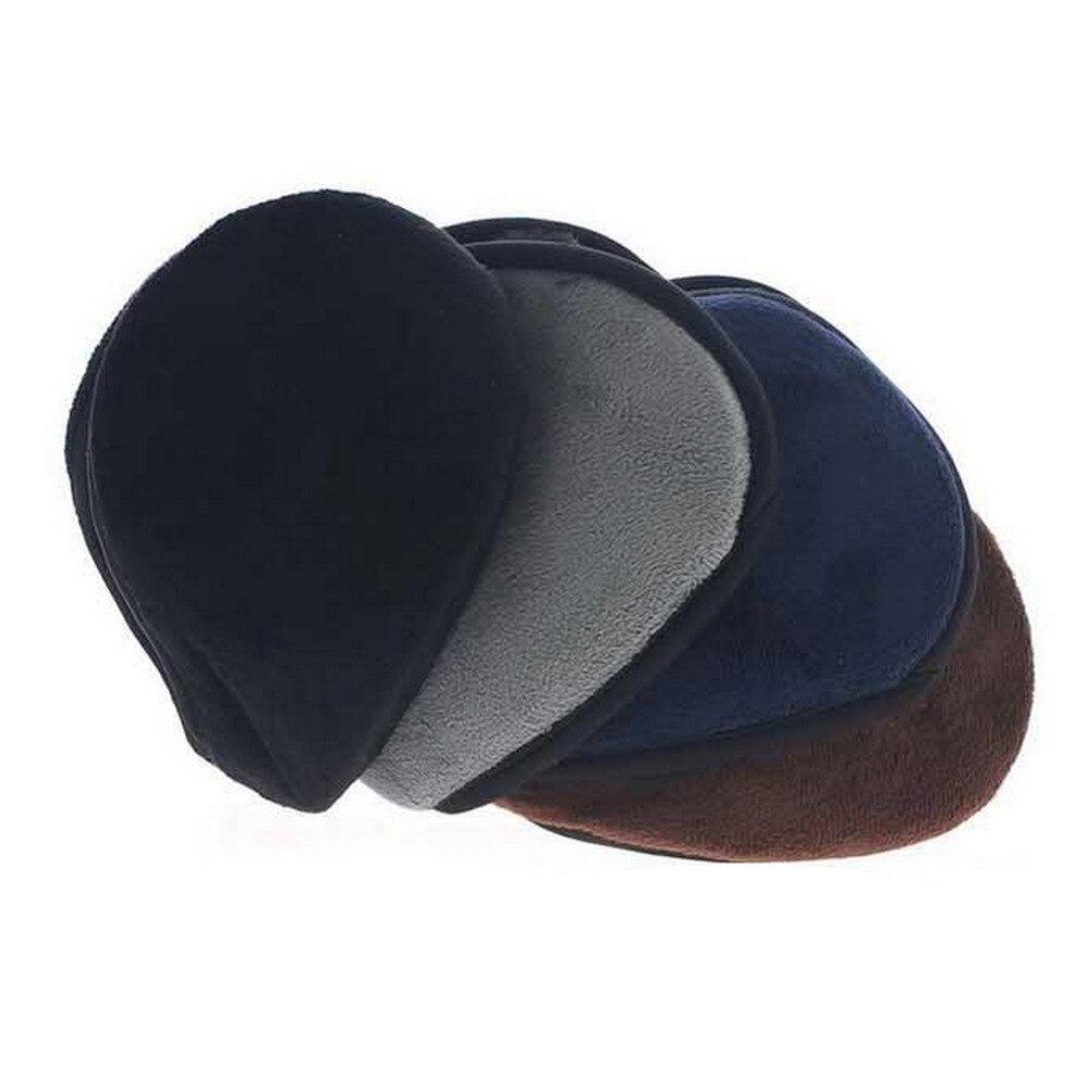 Новый 2017 зима руно теплые наушник теплый плюшевые ткани наушники крышка мужские earwarmers наушники мочки уха теплее повязка