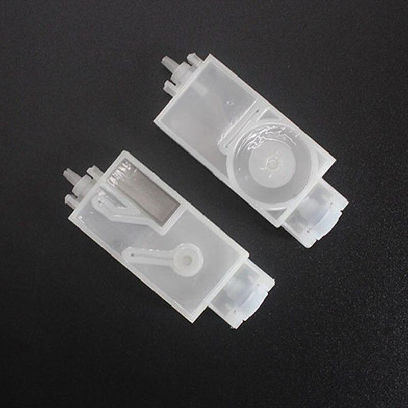 Best quality 10pcs/lot Solvent base ink filter Mimaki JV5 CJV30 JV33 Mutoh Galaxy Twinjet Printer print head dx5 damper(China)