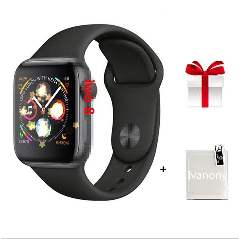 IWO 8 Smartwatch étui pour Apple iOS iPhone Android téléphone montre-Bracelet Sport Bluetooth Bracelet Fitness Tracker pk IWO 5 6