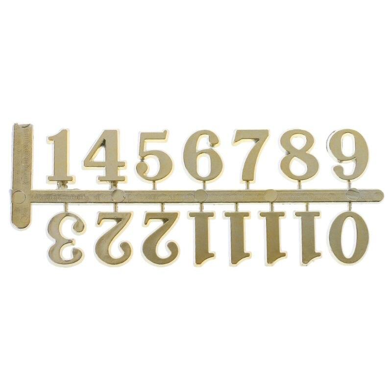Restore Ancient Ways Digital Accessories Quartz Clock Movement For Clock Repair DIY Clock Digital Parts Arabic Numerals