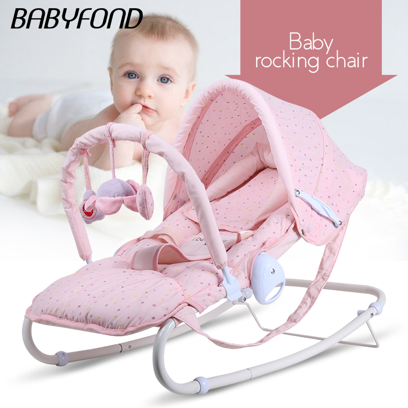 2018 Direct Selling Top Fashion  Metal Multi-functional Baby Rocking Chair Cradle newborn gift Baby bed 2017 direct selling new belt cute baby