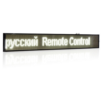 цена на 82CM P5 SMD WIFI LED Sign 16 * 160pixels Wireless Programmable Rolling information Indoor electric Advertising led Display board