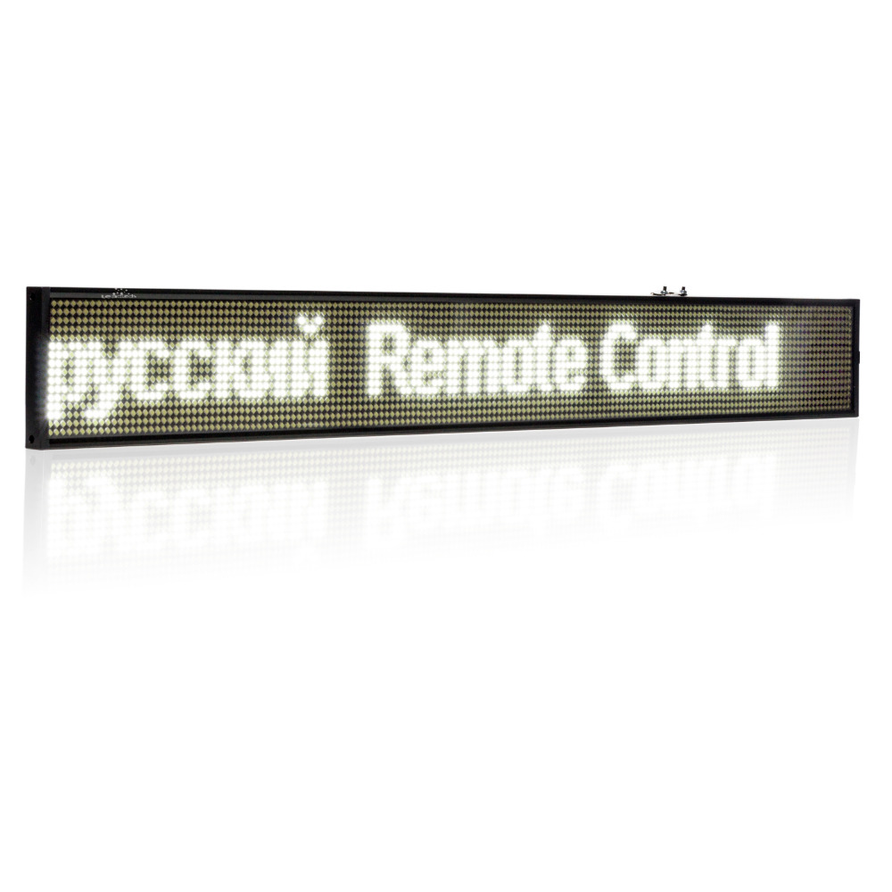 82CM P5 SMD WIFI LED Sign 16 * 160pixels Wireless Programmable Rolling information Indoor electric Advertising led Display board