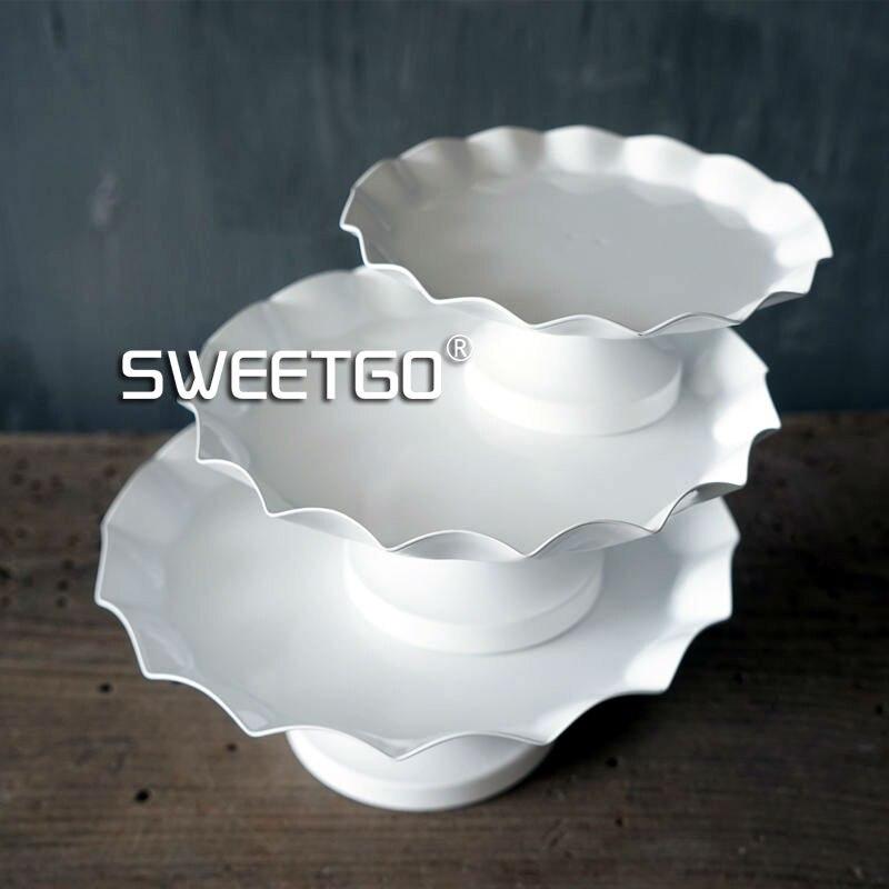 SWEETGO 17cm cupcake qëndrim i paletë 4 inç i papërshkueshëm nga - Kuzhinë, ngrënie dhe bar - Foto 4