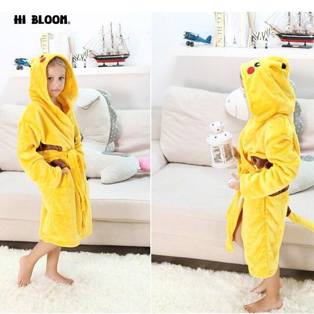 4ac0445732c2 Easter Gift Pokemon Pikachu Boys Girls Sleepwear Pajamas Carnival ...