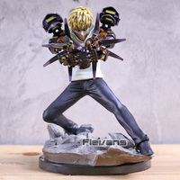 One Punch Man Genos Incineration Cannons Ver. PVC Figure Statue Collection Model Toy