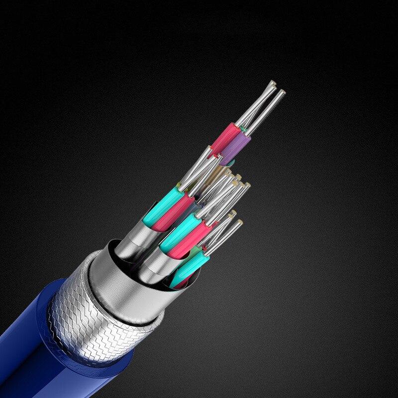 HDMI кабели 2,1 8K 120Hz HDR 48 Гбит HIFI ARC 12 бит 7680*4320 px с аудио и Ethernet 1 м 2 м 3 м 4 м 5 м HDR 4:4:4 MOSHOU усилитель
