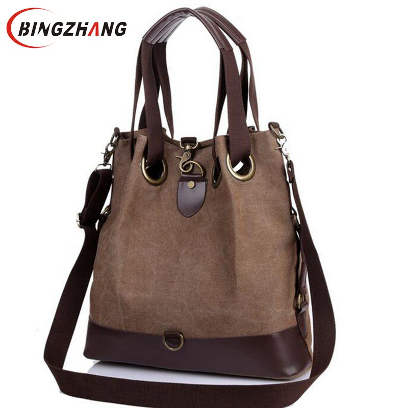 New Large Capacity Women Handbag Mother Shoulder Bag Fashion Mom Packages Luxury Mom Bag Canvas Women Messenger Bags L4-2144 2016 new fashion women handbag colourful striped canvas and leather bags women messenger bags large capacity bat wing handbags