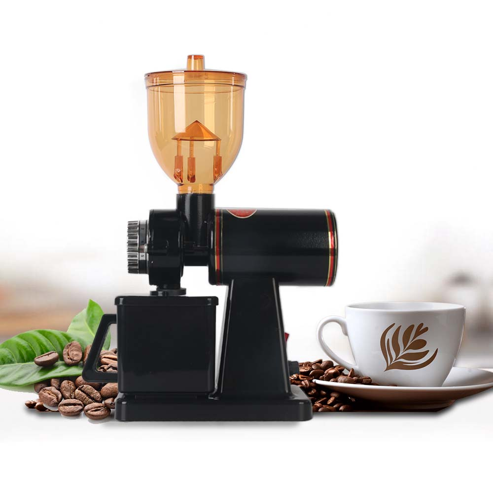 ITOP Stainless Steel Electric Ceramic Coffee Grinders Coffee Bean Milling Machine 8-Speeds Coffee Mills Grinder 110V/220V