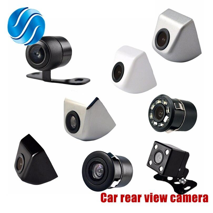 Показателя viecar 4.3 дюймов автопарк Системы HD Автомобильный Зеркало заднего вида Мониторы и 170 градусов Водонепроницаемый Автомобильная камера заднего вида Бесплатная доставка