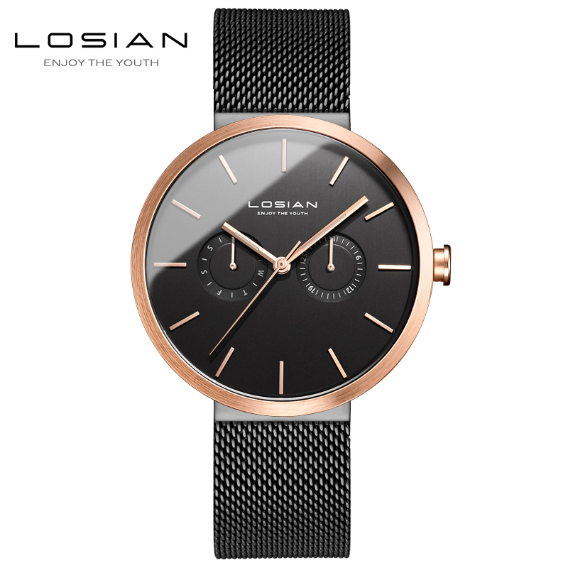 wrist watch men relogio masculino de luxo waterproof horloges mannen horloge luxe merk 2018 stainless steel