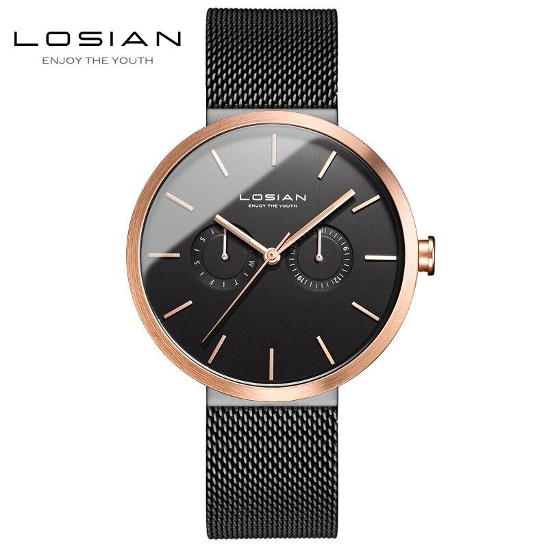 นาฬิกาข้อมือนาฬิกาผู้ชาย relogio masculino de luxo กันน้ำ horloges mannen horloge luxe merk 2018 สแตนเลสหรูหรา herenhorloge-ใน นาฬิกาควอตซ์ จาก นาฬิกาข้อมือ บน AliExpress - 11.11_สิบเอ็ด สิบเอ็ดวันคนโสด 1