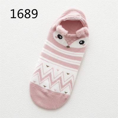 Cute Animal Pattern Cotton Socks