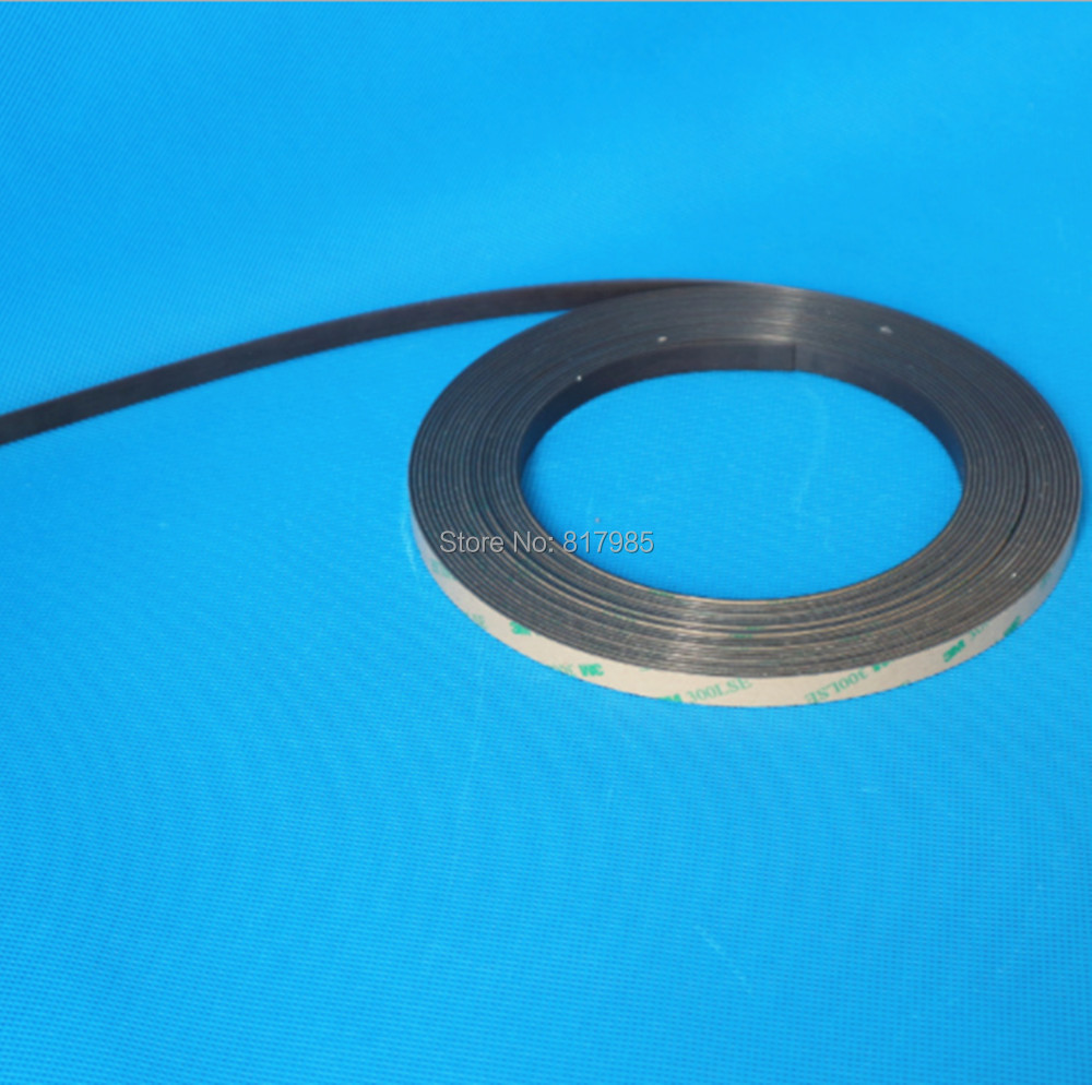 Cheaper magnetic tape 5+5mm magnetic strip without magnetic sensor