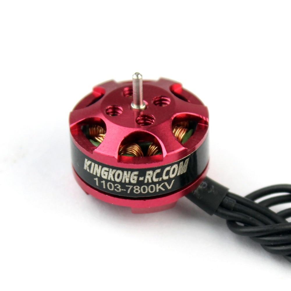 KINGKONG 1103 7800kv Mini Brushless Moteur pour RC Mini Drone Multirotor