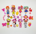8PCS Lot original Mini Lalaloopsy dolls button eyes ALICE IN WONDERLAND PRINCE HANDSOME Children animation girl toys