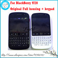 For Blackberry 9720  Original Full Complete Mobile Phone Housing Cover case +  touch screen + Keypad + Side Button Free shipping
