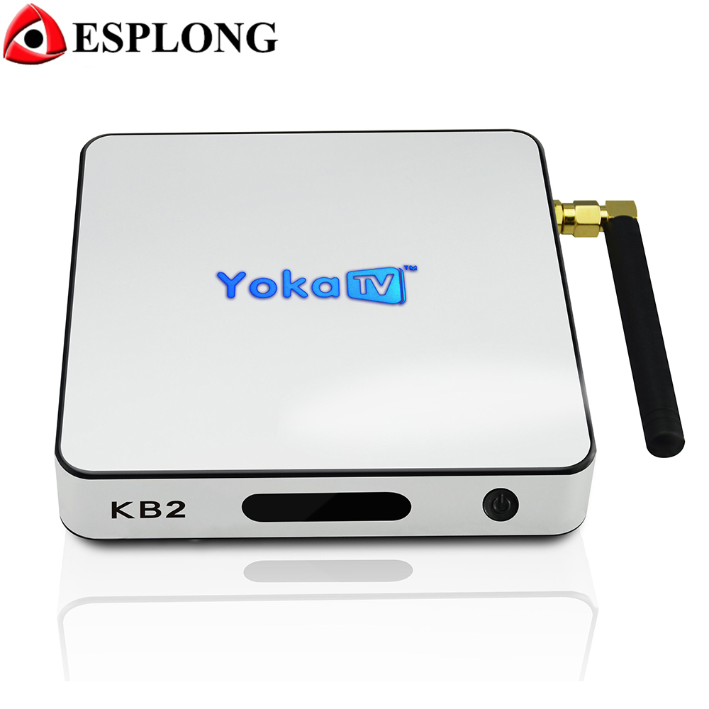 Yokatv KB2 Android 6.0 TV Box Amlogic S912 Octa core 2GB/3GB 32GB Smart Media Player Wifi Bluetooth 4.0 4K Set Top Box rikomagic rkm mk06 tv set top box amlogic s905 quad core android 5 1 1gb 8gb 2 4g wifi bluetooth 4 0 smart media player tv box