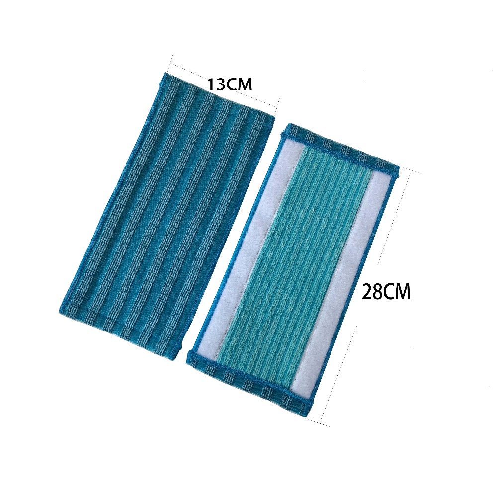 Image 2 - 4 Pack  mop cloths for vacuum cleaner Philips cloths PowerPro FC6400 FC6401 FC6402 FC6404 FC6405 FC6407 FC6408 FC6409 mop pad-in Vacuum Cleaner Parts from Home Appliances
