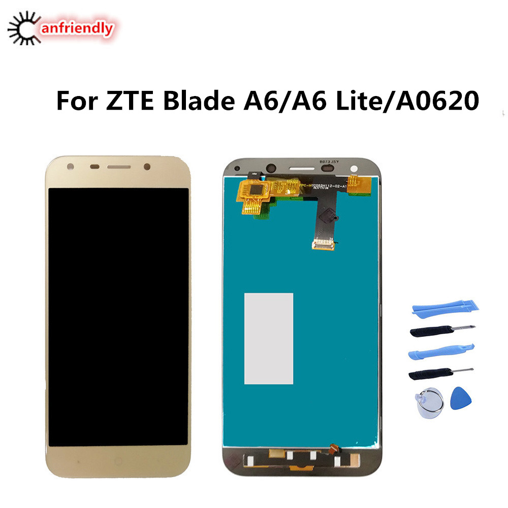 For ZTE Blade A6/A6 Lite/A0620 LCD Display+Touch Screen Phone Replacement Digitizer Assembly Panel Glass For ZTE A6 Blade A 6