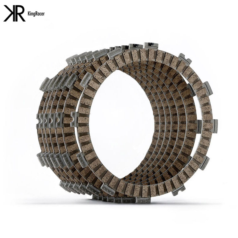 Moto Cruiser Clutch Friction Plates Kit for Harley XLH 883 Sportster 84-90 XLH 1100 Sportster 84-87 XLH 1200 Sportster 84-90