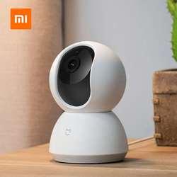 Xiaomi Mijia inteligentne kamery 1080P WiFi Pan Tilt aparatu bezpieczeństwa w nocy kamery internetowej 360 kąt bezprzewodowy wyciszenie silnika kamera IP kamera Wifi 5
