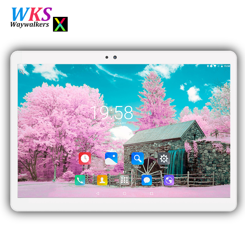 Waywalkers 10 inch 2.5D screen tablet pc Android 7.0 Phone call octa core RAM 4GB ROM 32/64GB 1280*1200 IPS Dual SIM tablets pc mon laferte buenos aires