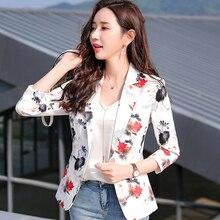 0099614eef9e59 Die Neue hohe qualität Büro frauen Blazer Elegante mode Dame Blazer Mantel  Anzüge Weibliche Casual stil Jacke Anzug Plus größe 4.