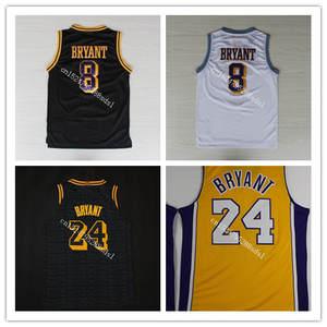 0291bca5b0f 2018-19 new Men s 24 Kobe Bryant Throwback Basketball Jersey Embroidery  Stitched Size XXS-XXL