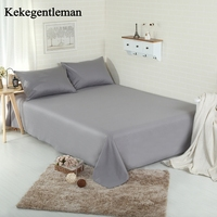 Kekegentleman 100% Cotton Solid Sheet Flat sheet 1 piece Bedspread High grade Blanket Bedding wholesale Home Textiles