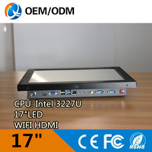 All in one pc 17 inch industrial computer panel pc with i3 cpu 2GB DDR3 32G SSD tablet pc with Resolution 1280×1024