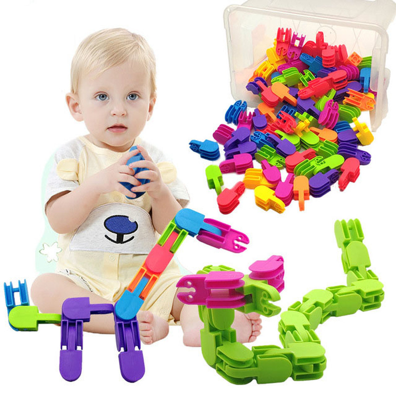New Building Blocks Toys DIY Assembly Classic Colorful Brick  Field