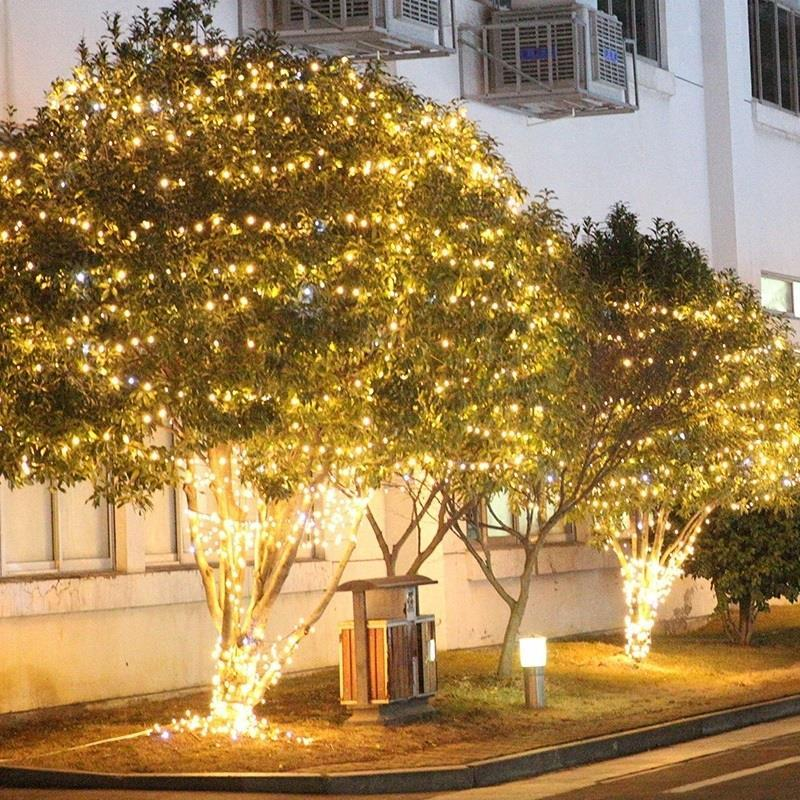 Curtain Cortina De Fancy Decoration Kerstverlichting Christmas Outdoor Luces LED Decoracion Party Light Holiday Lighting